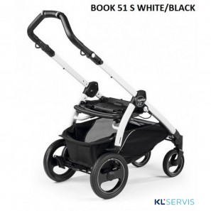 ШАССИ к коляске PEG PEREGO BOOK 51 S WHITE/BLACK